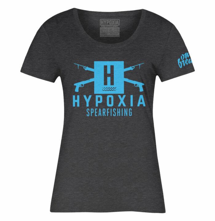 Hypoxia-Classic-Spearguns-Charcoal-Blue-Womens-T-Shirt