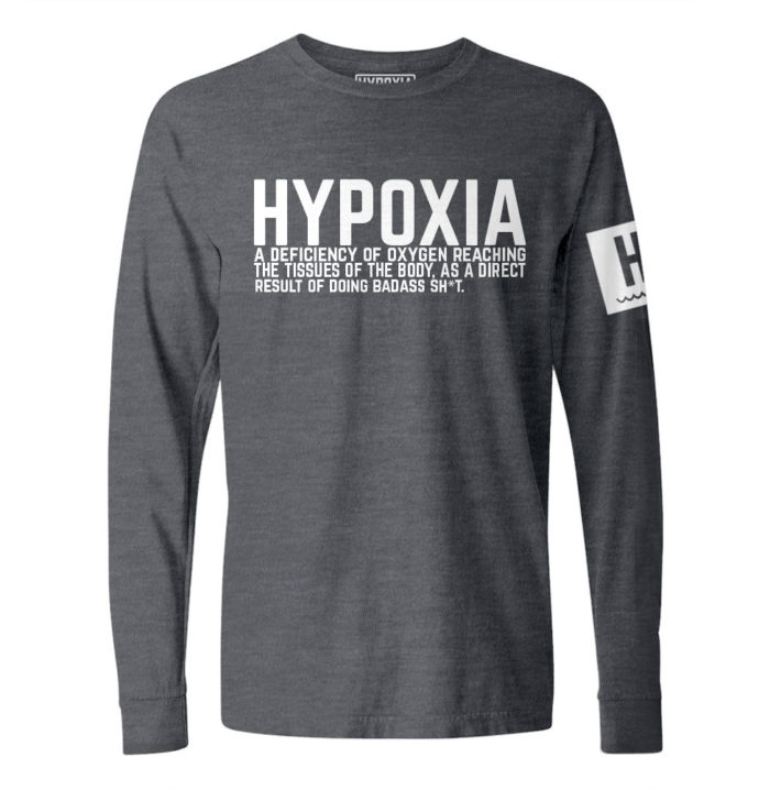Hypoxia-Definition-Charcoal-White-Longsleeve
