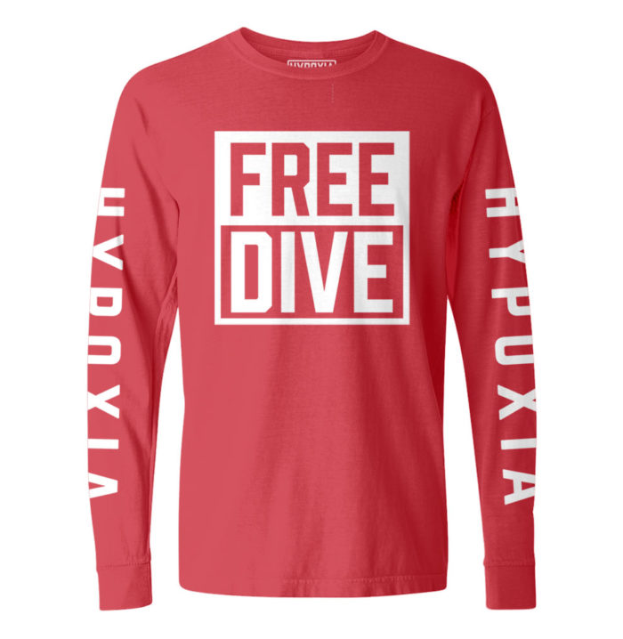 Hypoxia-Freedive-Box-Red-White-Longsleeve