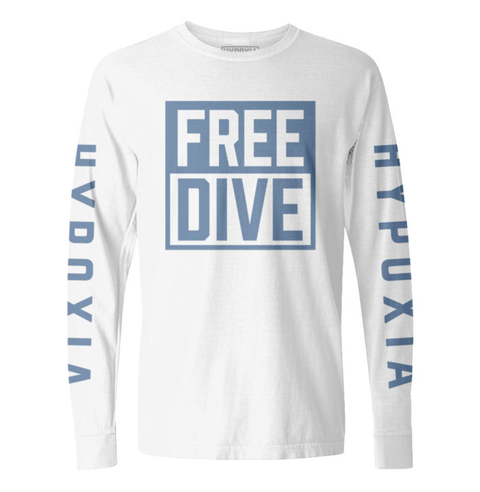 Hypoxia-Freedive-Box-White-Blue-Longsleeve