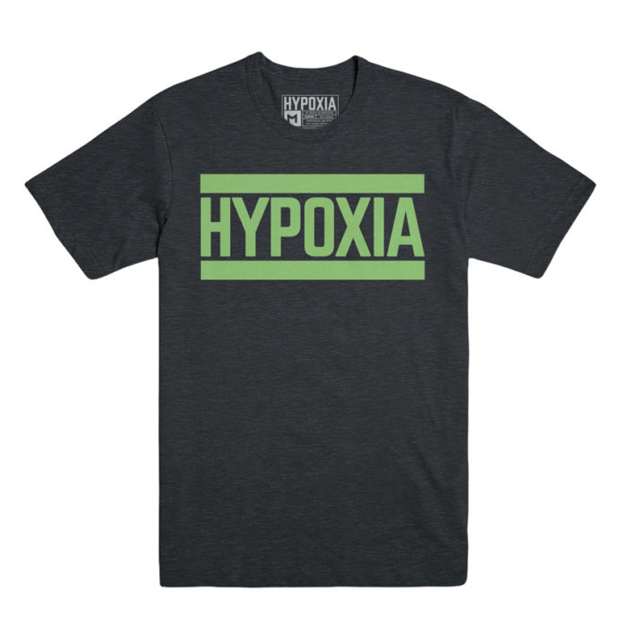 Hypoxia Freediving Spearfishing Bar Logo Tshirt