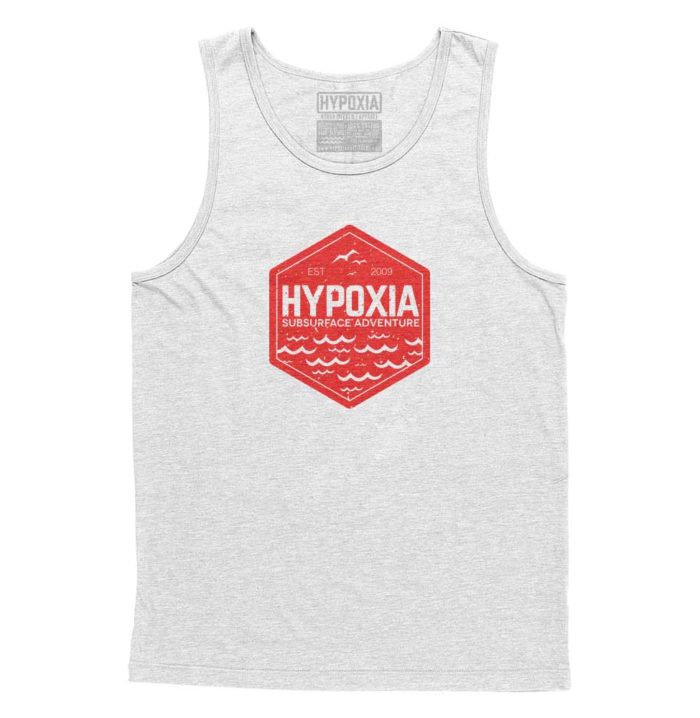 Hypoxia-Subsurface-Hexagon-White-Red-Tank