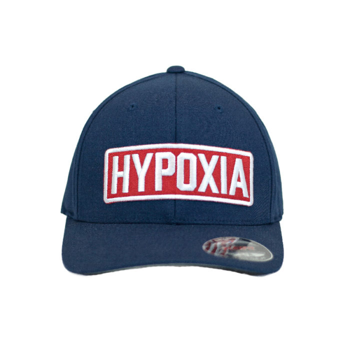 Hypoxia Freediving FlexFit Hat Navy