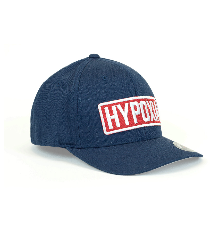 Hypoxia Freediving FlexFit Hat Navy