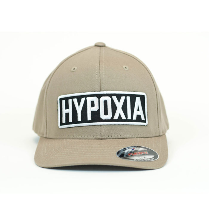 Hypoxia Freediving FlexFit Hat Tan