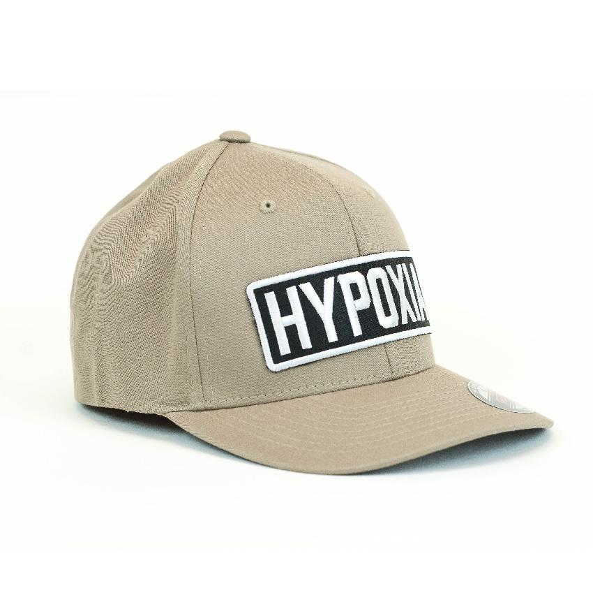 Hypoxia Freediving FlexFit Hat Tan
