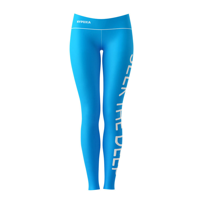Hypoxia Freediving Spearfishing Seek the Deep Dive Leggings FRONT