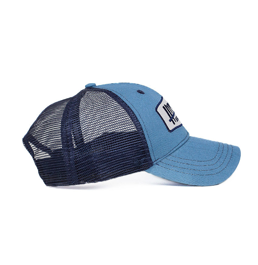 Poseidon Badge Freediving Spearfishing Trucker Hat Side