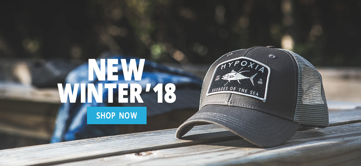 Hypoxia Spearfishing Freediving Winter 2018 Savages Hat