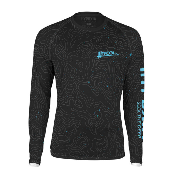Hypoxia Freediving Spearfishing Epic Subsurface UPF 50 Sun Protection Hex-Dri Technical Front