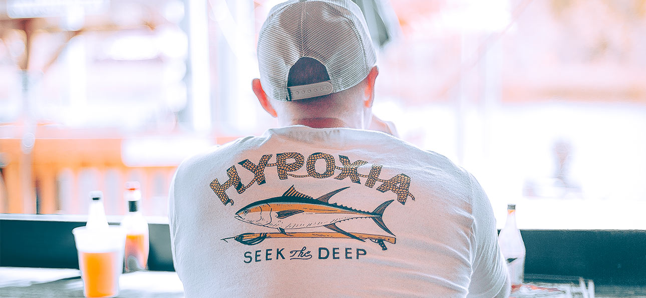 Hypoxia Spearfishing Freediving Summer 2019 Collection Yellowfin Hunt Slide