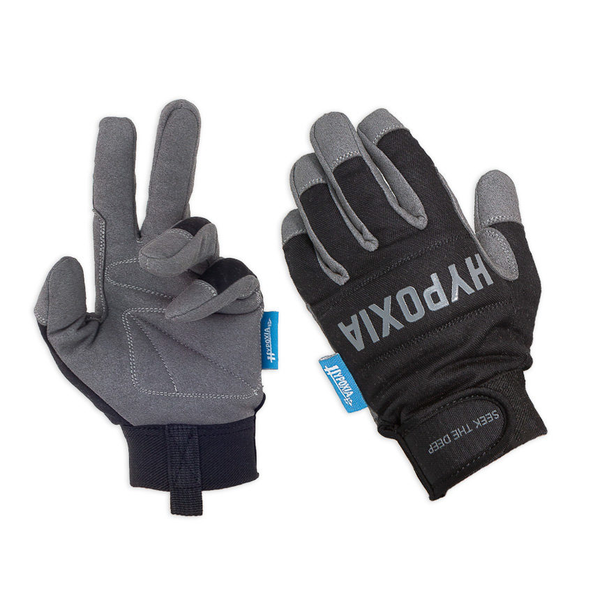 Apex Freediving Spearfishing Kevlar reinforced gloves